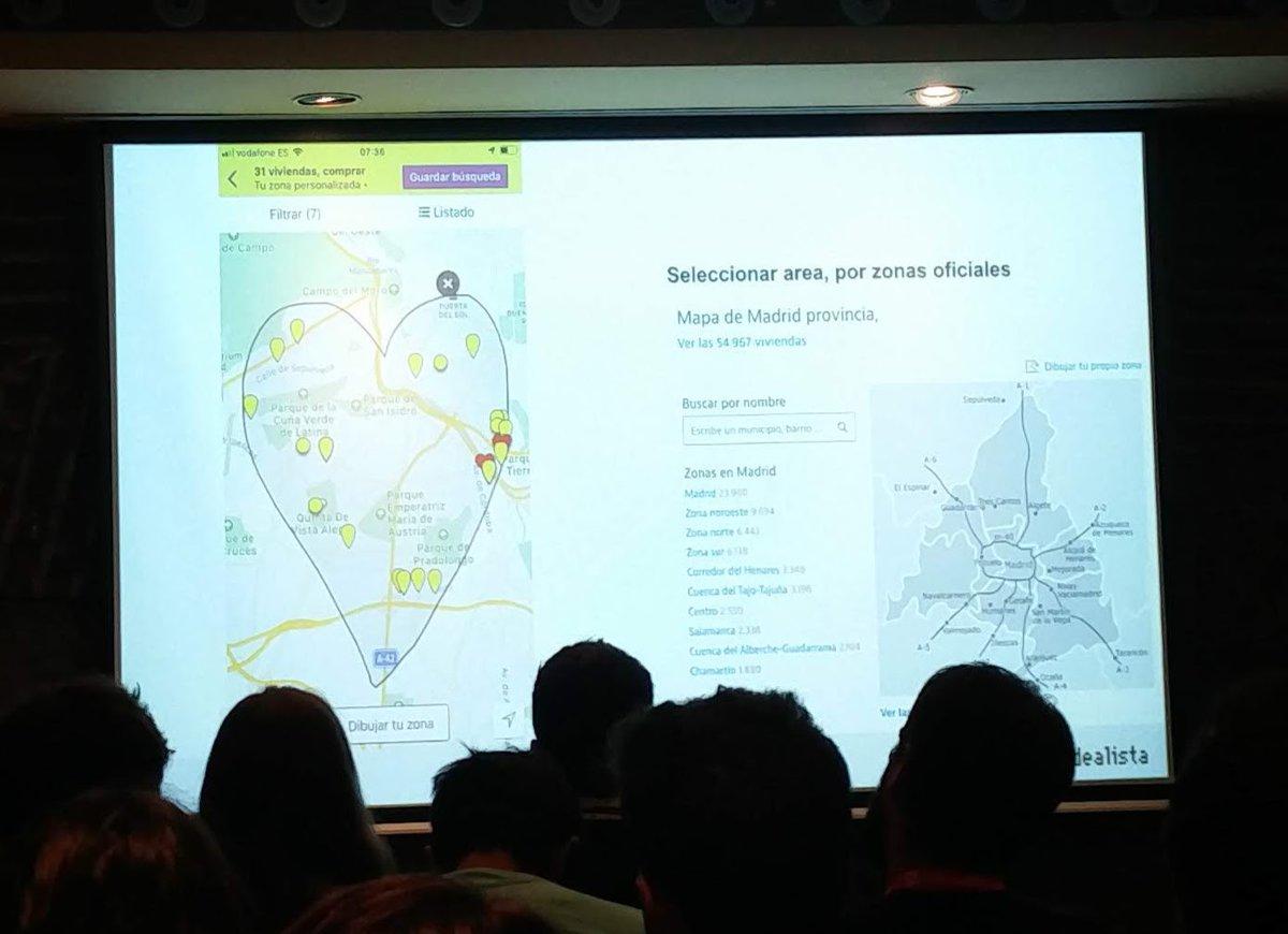 Idealista funcionalidad dibujar tu area en el mapa design + madrid