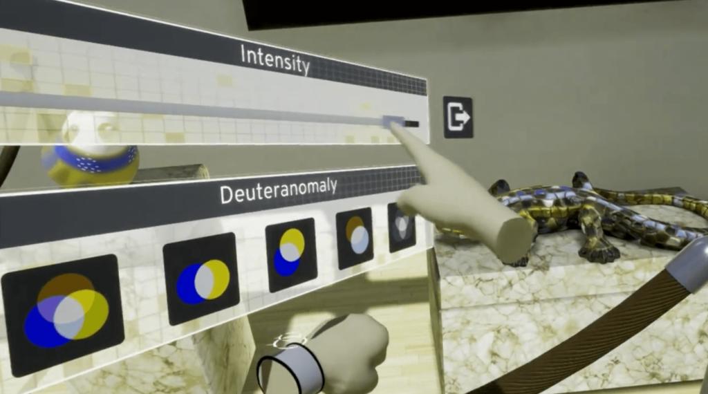 Captura de pantalla del juego eXPerience Colorblindness
